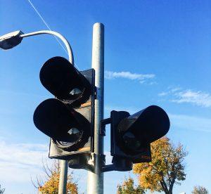 Neubau einer Lichtsignalanlage im Bereich der Polizeiinspektion Falkensee