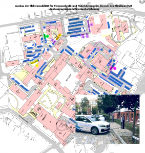 Ausbau der Elektromobilität im Klinikum Ernst von Bergmann in Potsdam