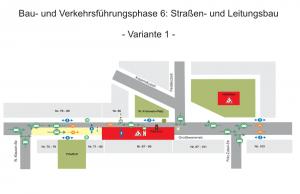 Umbau der Großbeerenstraße in Potsdam