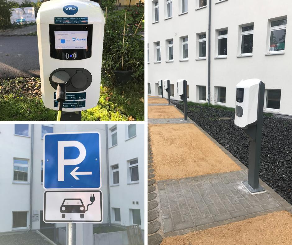 Ausbau Elektromobilität Klinikum EvB in Potsdam